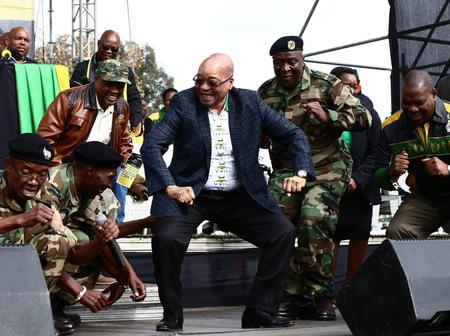 Jacob Zuma comes out of retirement to campaign for the upcoming elections, after meeting top six.