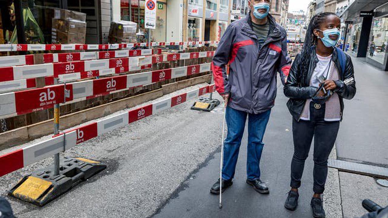 So erleben körperlich Behinderte die Freie Strasse