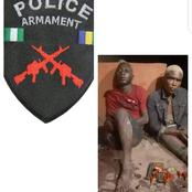 Two suspected criminals arrested in Anambra during a rubbery Operation