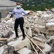 Affaire un homme démolit la maison de sa femme: elle se rend sur les lieux et ne regrette rien