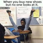When you buy new shoes but no one looks at it and other funny memes compilation