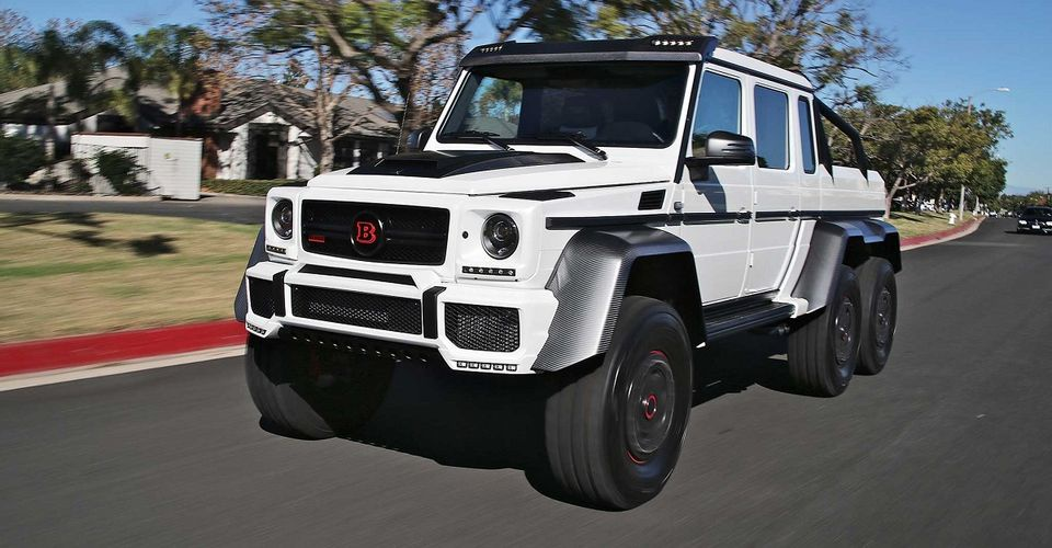 A Detailed Look At Dan Bilzerian S Mercedes 6x6 By Brabus Opera News