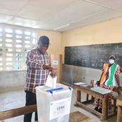 Adjamé/ Après avoir voté, Farikou Soumahoro parle aux populations