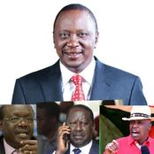 After State House Meeting Presidential Hopefuls Now Clamouring For Uhuru Endorsement
