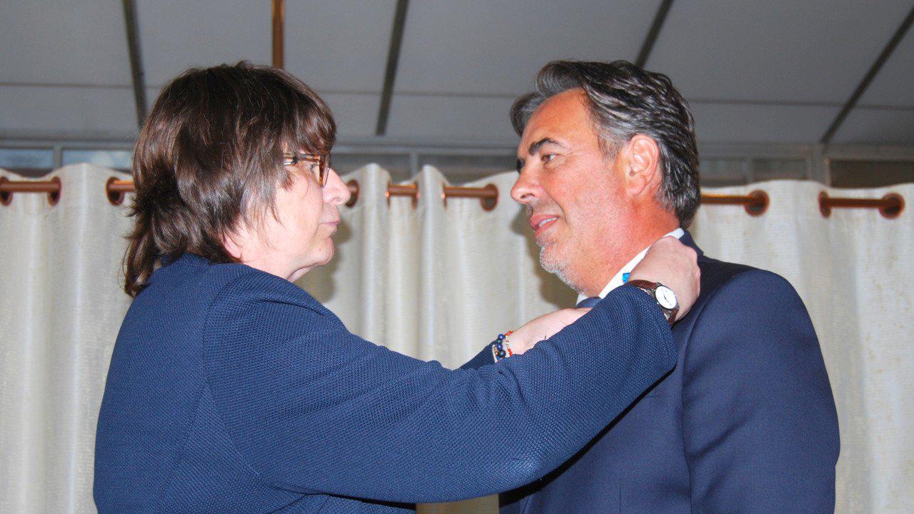 Cherbourg : l'ordre national du Mérite pour Fabrice Lepotier, fondateur d'Efinor