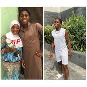 See The Promise This Beautiful Nigerian Muslim Footballer Made To Her Late Mother (Photos and Video)