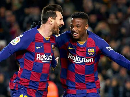 Opinion: why leo Messi and Ansu fati can become Barca greatest trio again