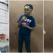 Reactions as Wizkid Son Releases a New rap Video