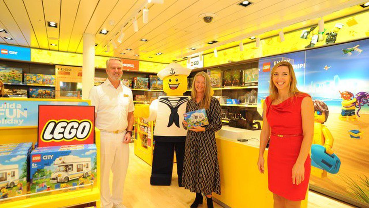 AIDA eröffnet weltweit ersten LEGO® Store an Bord eines Kreuzfahrtschiffes