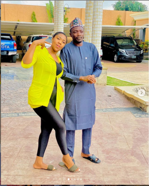 Super Eagles captain, Ahmed Musa and his wife Juliet celebrate their 4th wedding anniversary?