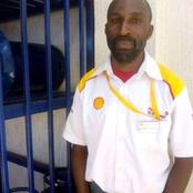 Heaven sent: Petrol station attendant saved a teenage girl caught up in traffic until late night