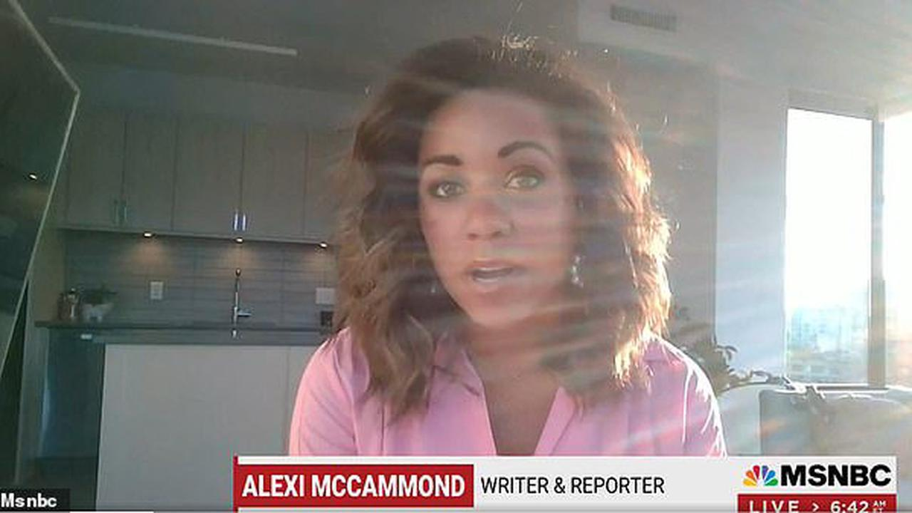 Uncanceled! Alexi McCammond - who left Teen Vogue before she even started after furor over old tweets - is back at MSNBC with Mika Brzezinski