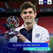 After Pulisic Won The Man Of The Match Award, See How Many Times He Was Fouled By Fc Porto Defenders