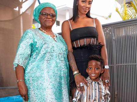 Tiwa Savage Is Beautiful But Have You Seen Photos Of Her Mother? Check Photos Of Her