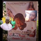 See the trending hilarious funeral poster of a young man