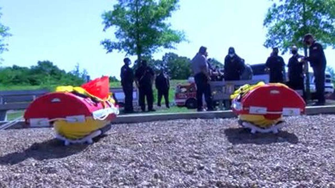 Memphis Fire Department debuts two swift water rapid response robots