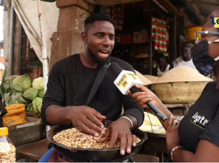 How I started selling groundnuts and built house from it after I was given fake admission- Man