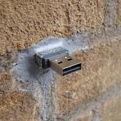 If You Find This In The Wall, Don't Touch Or Pick It