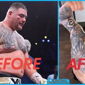 Andy Ruiz has lost weight (Photos)