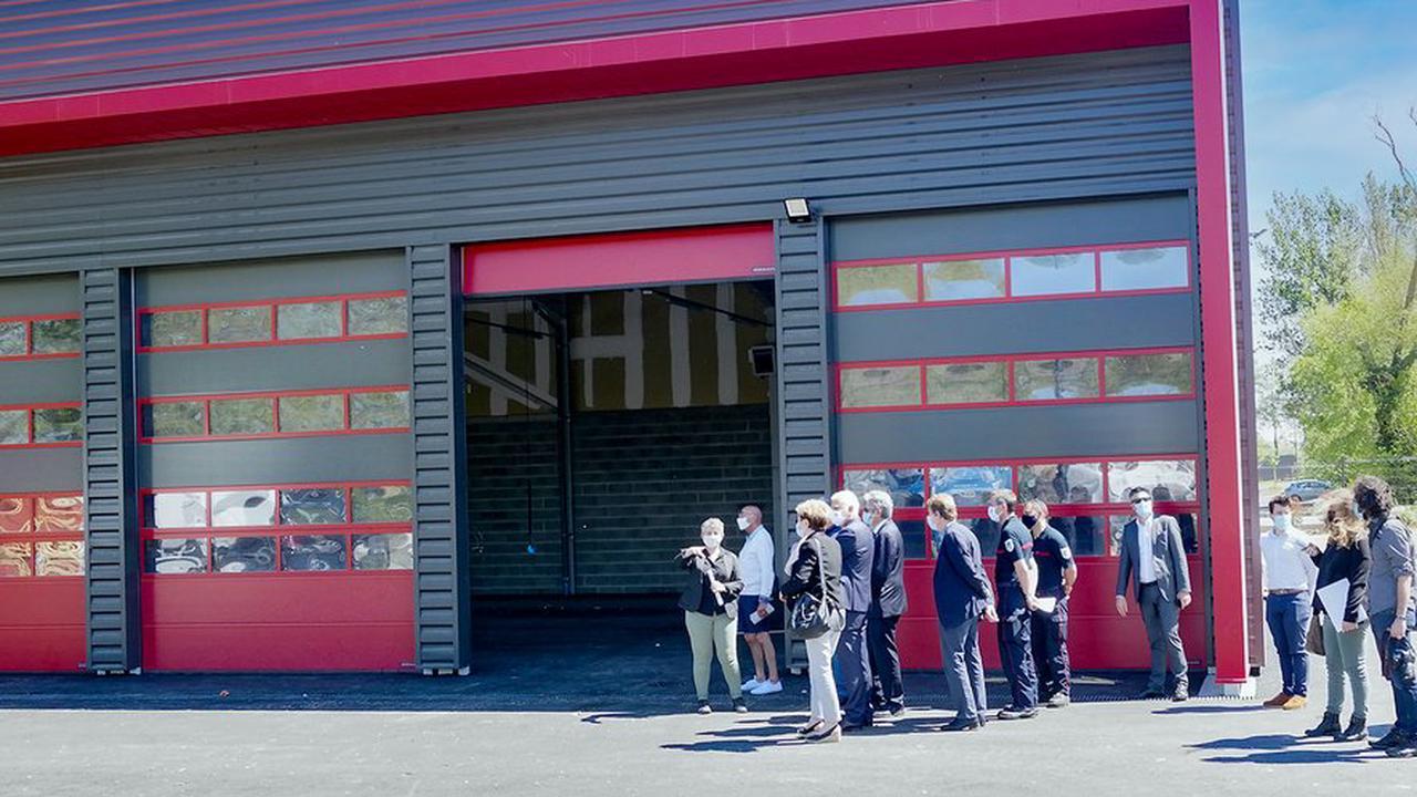 Fin des travaux au Centre d'Incendie et de Secours de Montgiscard