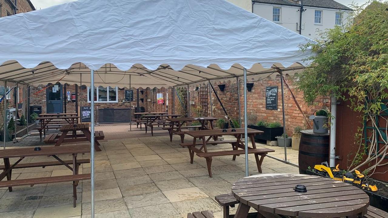 The pub gardens opening on Monday in Cheltenham