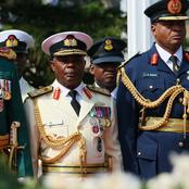 Ranks of commissioned officers in the Nigerian army.