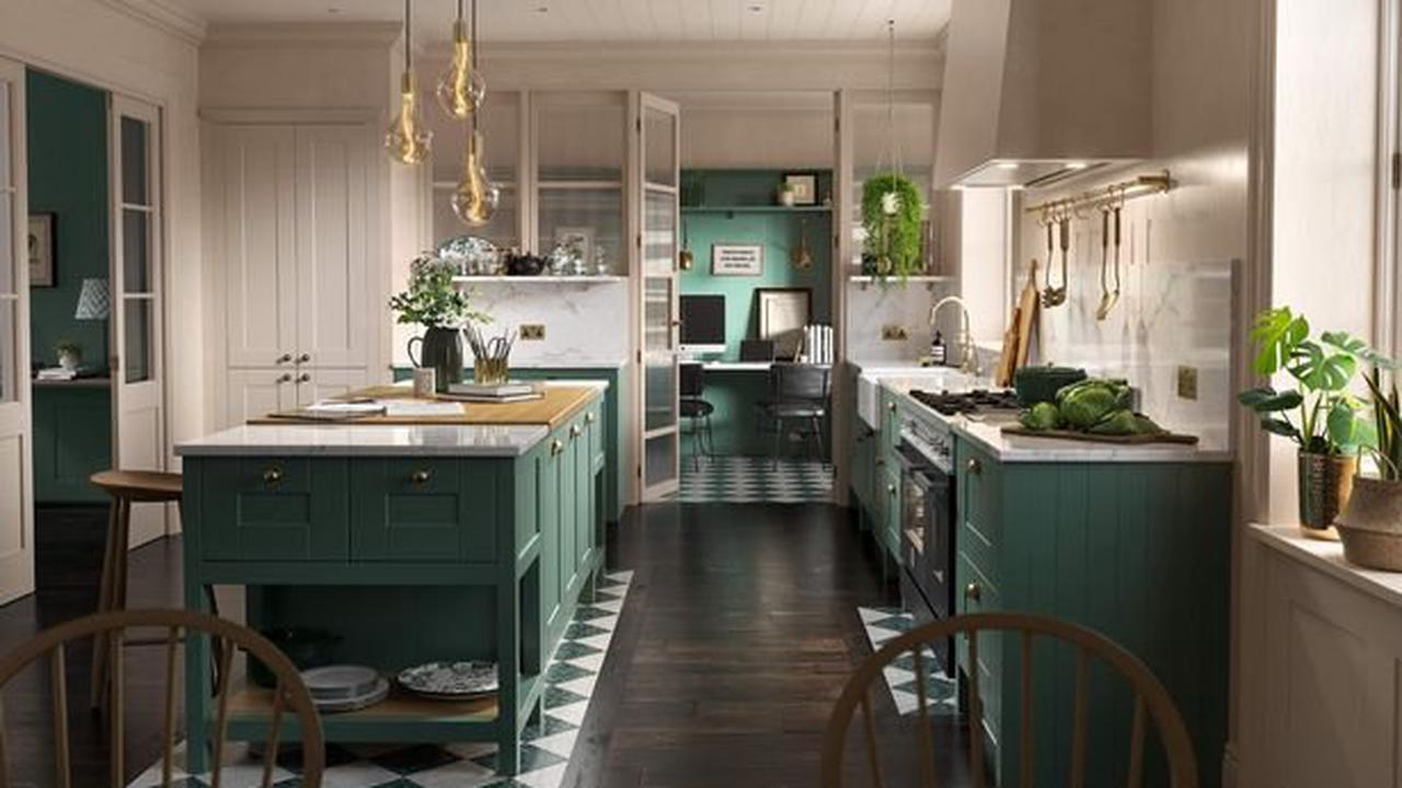 Wren brings Kitchen of the Year title to The Nest as home office adds contemporary twist