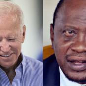 Details Of Uhuru's Private Phone Call Conversation With US President Joe Biden