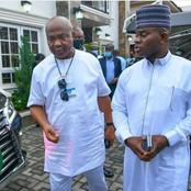 Gov. Yahaya Bello Host Gov. Hope Uzodinma At His Residential Home In Kogi State (See Photos)