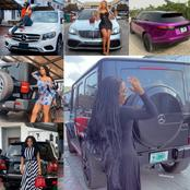 A gallery of Mercy Eke's beautiful cars
