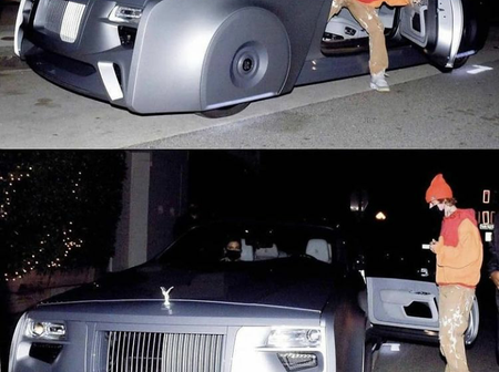 Check Out Justin Bieber's Futuristic Rolls Royce. (See Photos)