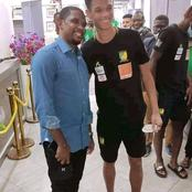 La photo qui fait sensation : Samuel Eto'o et son fils Étienne Eto'o Pineda