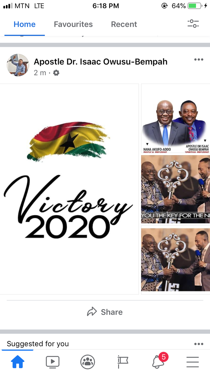 "15900bd30f3f4c65b2ef4c046a01cd8b?quality=uhq&resize=720 - ""I Gave You The Key For A Next Term"" - Owusu Bempah Reacts To Nana Addo's Victory"