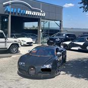 First ever Bugatti in Mzansi spotted in Jo'burg
