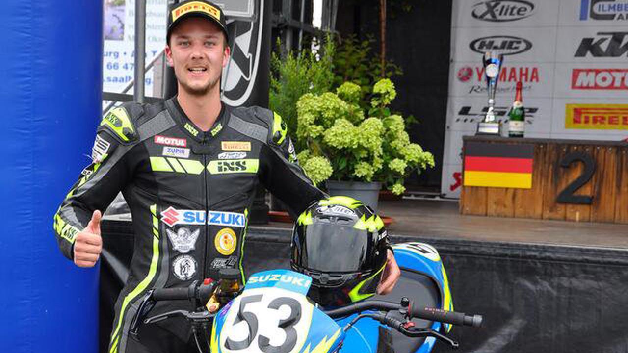 Motorradsport: Nicolai Kraft fährt in Schleiz zweimal im Twin-Cup auf das Podium