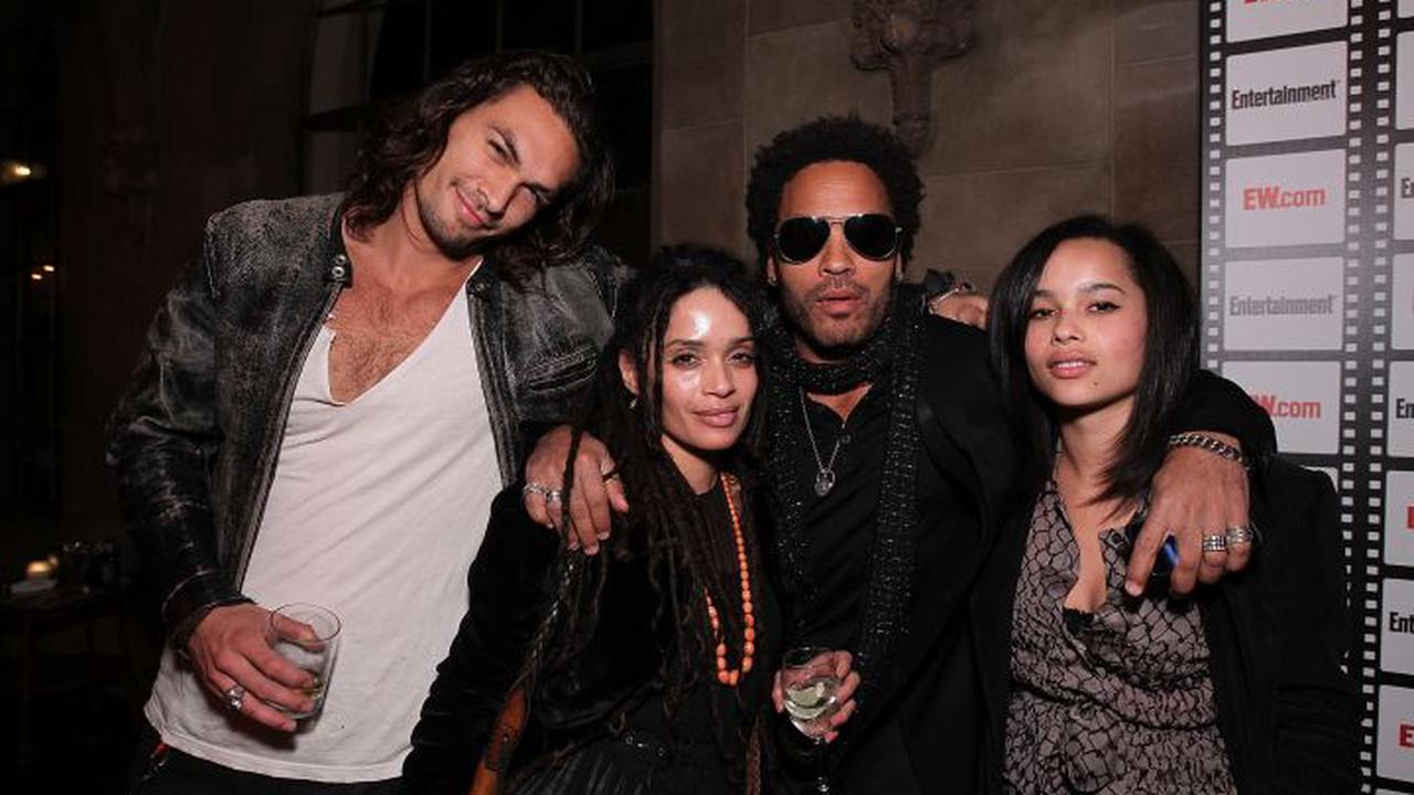 Jason Momoa is wished happy birthday by Lenny Kravitz and fans are loving it