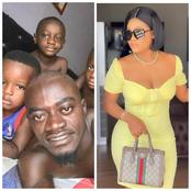 Kwadwo Nkansah Lilwin Breaks Silence On The Internet With His 3 Handsome Sons And His Girlfriend