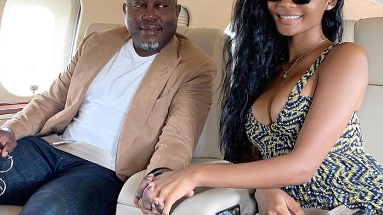 Split! Real Housewives of Atlanta star Falynn Guobadia and husband Simon reach 'mutual decision' to separate after two years of marriage