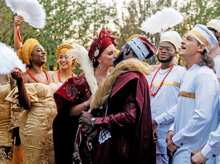 Check Out Beautiful Traditional Wedding Photos Of Nigerians Getting Married To White People