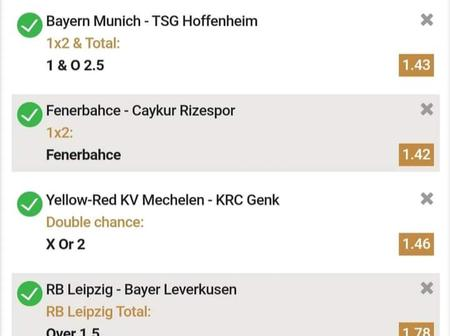 Lokomotiv Moscow and other top teams to win you 4k today