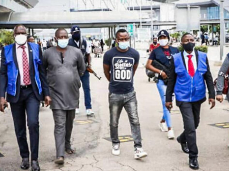 After These 3 Nigerians Scammed 50,000 Victims Worldwide, Interpol Finally Arrests Them