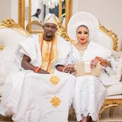 Alaafin Pays Popular Actress, Lizzy Anjorin And Hubby Surprise Visit