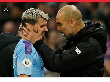 Checkout what Manchester coach, Pep Guardiola said About Aguero