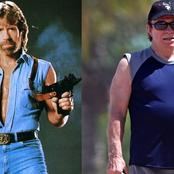 Photos: You Recall Chuck Norris? Meet him in Real Life, His Family, Net Worth and His Transformation