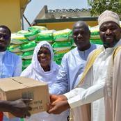 Touba : le Ministre Moussa Sanogo fait don de 43 tonnes de vivres aux Musulmans