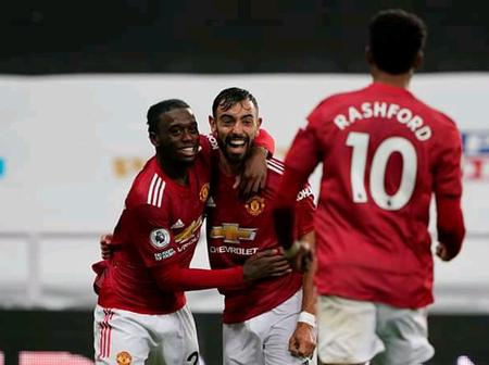 Respect Man United. See Photos Of Man U Players In Action, After Their Wonderful Performance Today