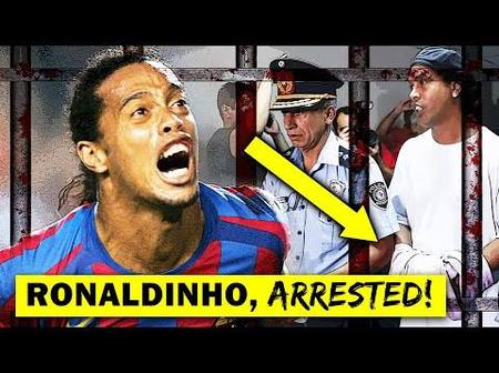 Just 7 Months After Going To Prison, See How Ronaldinho Looks Like Now.