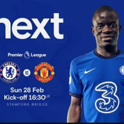EPL: Bad News For Chelsea Ahead Of Their Match Against Manchester United On Sunday