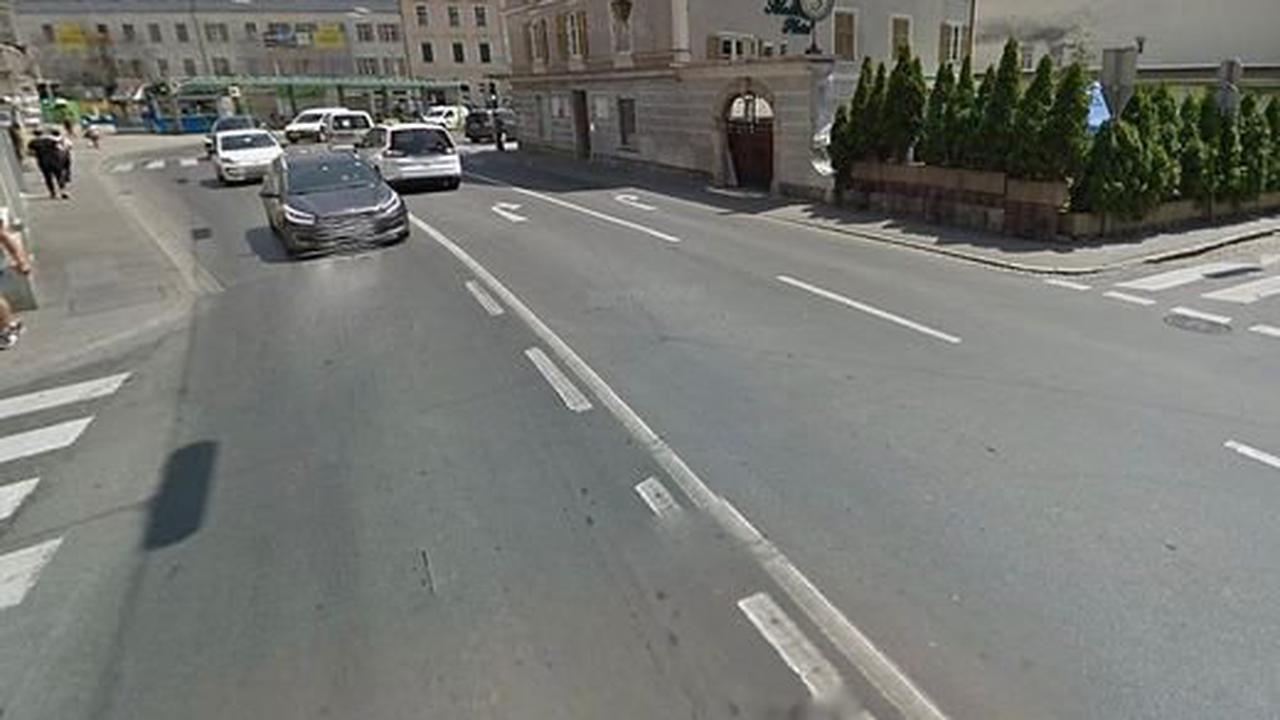 Graz-Gries |Abbiegeverbot missachtet: Pkw-Lenker stieß mit Radfahrer zusammen