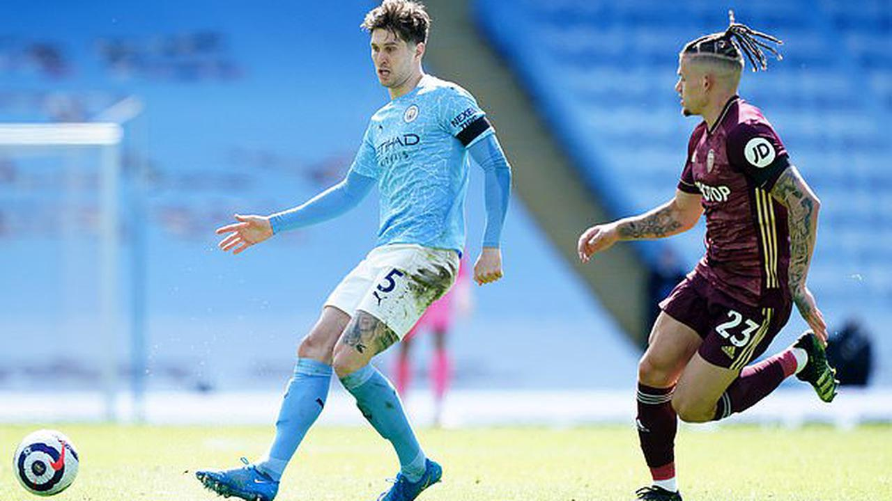 John Stones dribbled 111 metres more in the opposition half than ANYONE has managed in the Premier League this season but didn't make single tackle against Leeds... the City star's extraordinary display shows just how unique his role is under Pep Guardiola